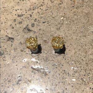 Kate Spade Glitter Gumdrop Earrings